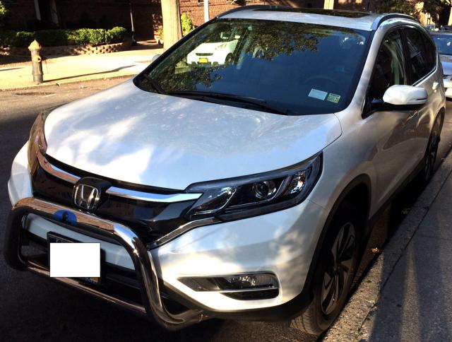 2015 Honda CRV Touring AWD first week