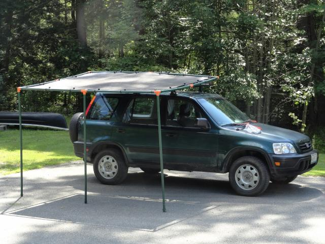 Diy Roof Rack Awning Project