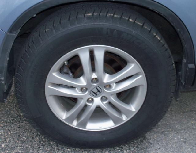 2012 CRV biggest tires to fit in the wheel well.