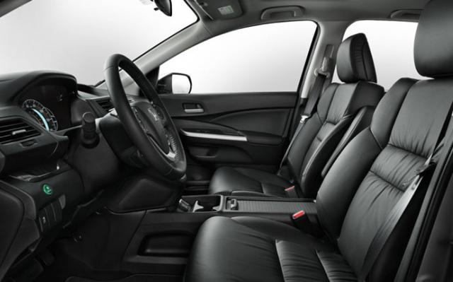 2015 cr v is the leather genuine bonded or