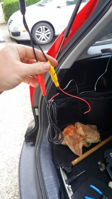 installing rear view reverse camera where s to tap in for power 20140503 151848 jpg