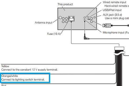 aftermarket illumination or brightness controller wire clarification Wiring diagram