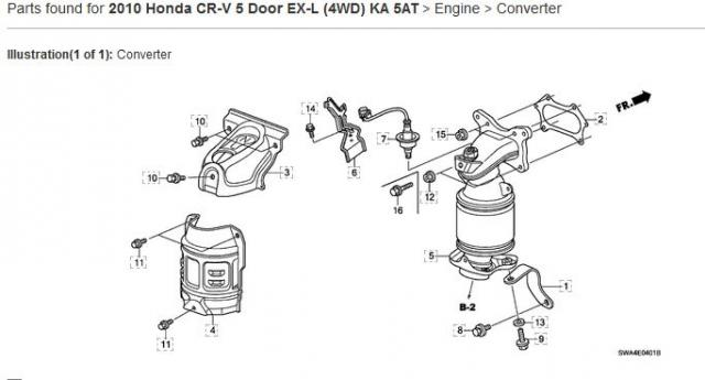 2010 Honda Crv Bank 1 Oxygen Sensor Location Owners Rhcrvownersclub: 2010 Honda Cr V Engine Diagram At Gmaili.net