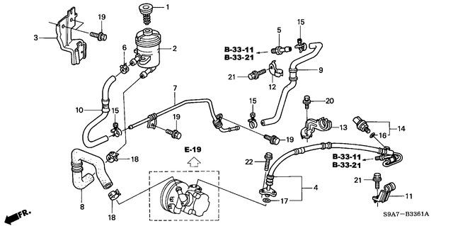 Crv Power Steering Return Hose Leak
