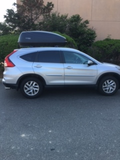 Roof Rails And Cargo Box 2016 Cr V