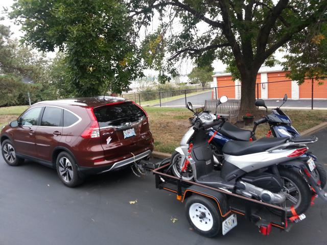 Towing 1500 Pounds With 2015 Crv With Cvt Transmission