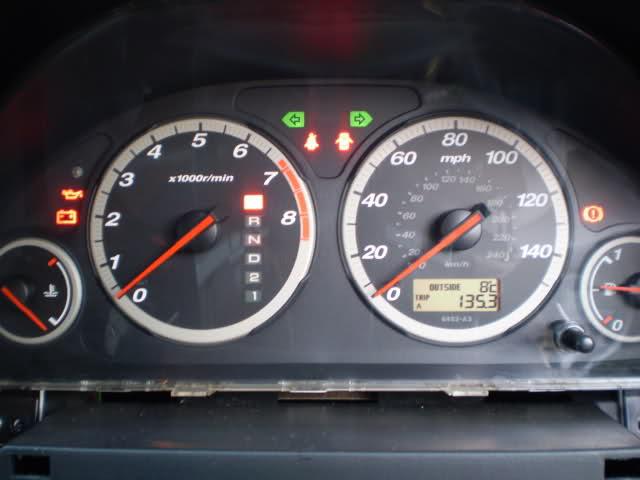 2002 Honda CRV - Dashboard Handbrake Light Issue