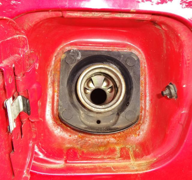 1999 Honda Crv Fuel Filler Pipe Replacement
