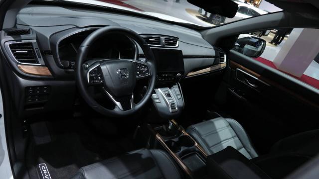 2020 Us Honda Crv Interior