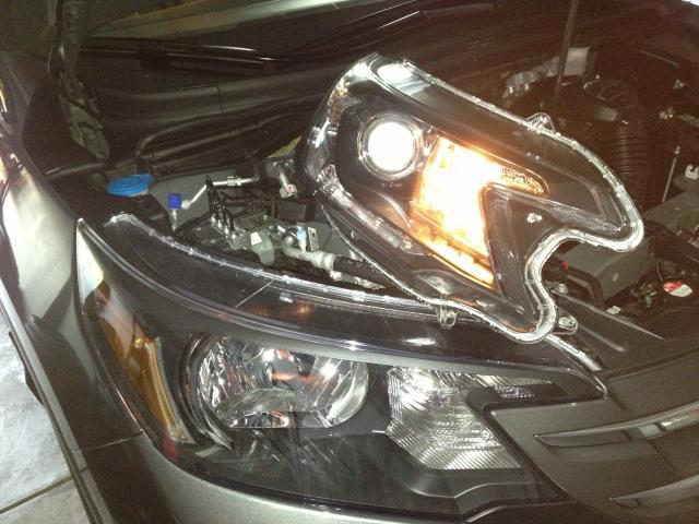 How To Change Honda Crv Headlight