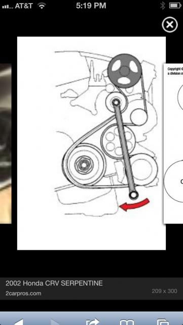 serpentine belt replacement in 2nd Gen, neither expensive or difficult