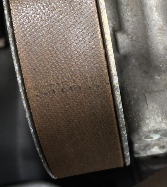 should i replace a cracked serpentine belt