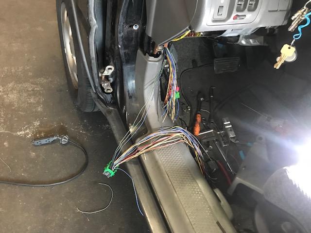 1999 crv driver s door connetor wires broken rh crvownersclub com