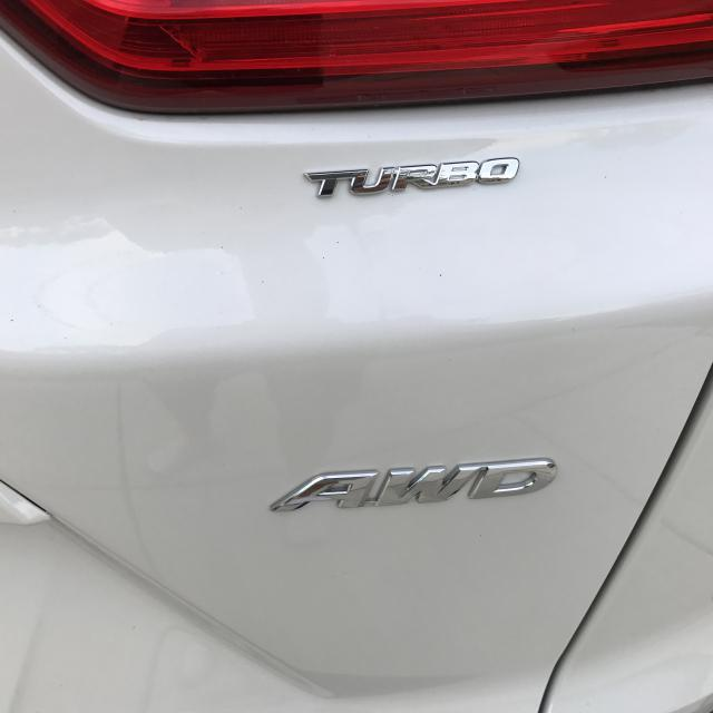 "Added Acura RDX ""turbo"" Emblem"