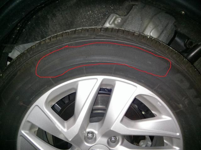 Tire Rotation Rotation Marks