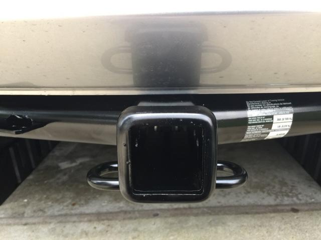 Trailer hitch receiver install on honda cr v