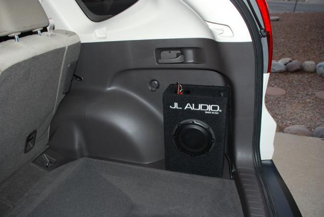 Honda cr v subwoofer install