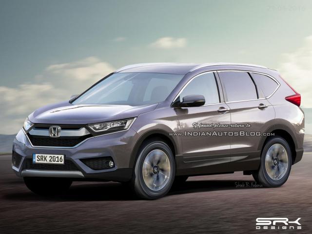 2017 Honda CRV  Announcement Dates
