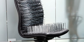 chair nails. name: office-chair-with-nails-sm.jpg views: 740 chair nails