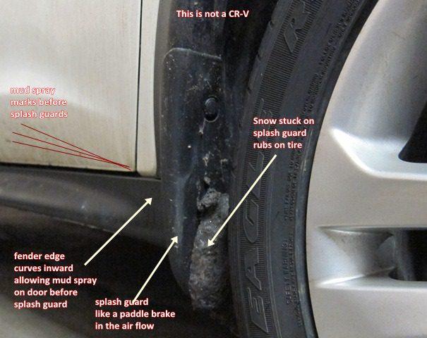 Splash Guard Car >> Are Splash Guards Needed On Gen 4 Cr V Honda Cr V Owners Club Forums