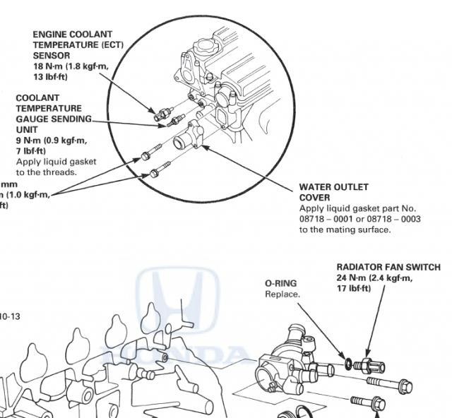 honda crv 1998 cooling fan problem honda cr v owners club forumsDiagram Also 2004 Honda Cr V Cooling Fan Diagram On Honda Cr V #17
