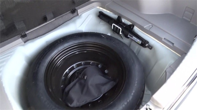 cargo area trunk spare tire well 2013 ex l. Black Bedroom Furniture Sets. Home Design Ideas