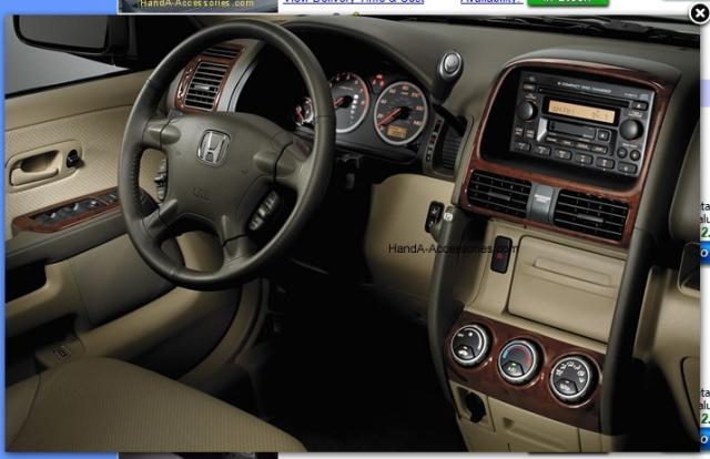 2005 Cr V Have You Seen This Wood Grain Panel Trim Honda Cr V