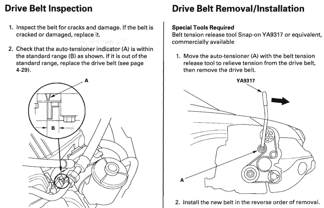 Some Tips For Changing The Serpentine Belt In 3rd