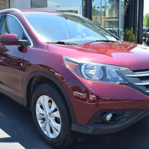 2013 CRV - Front View